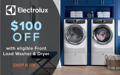 Electrolux laundry save $200