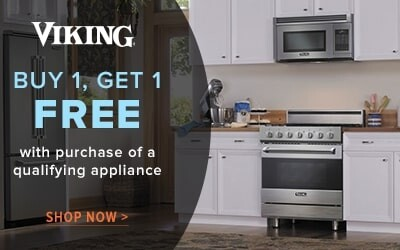Viking Buy 1 Get 1 Free with purchase of qualifying appliance