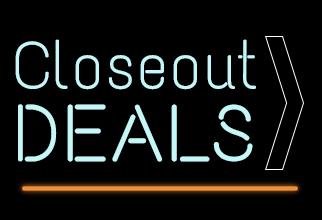 Closeout deals
