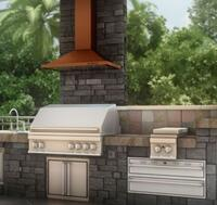 Outdoor Range Hood