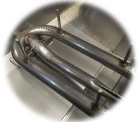 Heavy-Gauge Tubular Stainless Steel Burners