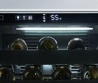 Perliq™ Touch-Screen Wine Cooler Controls