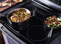 Easy-to-Clean Cooktop Surface