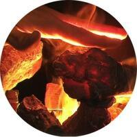 LED Inner Glow Logs