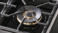Easy-to-Clean Enamel Burner Plate