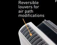 Reversible Louvers
