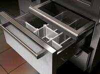 Touch-and-glide Crisper Drawer