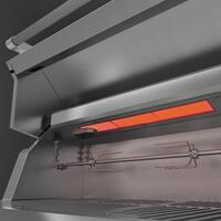 Infrared Rotisserie Burner