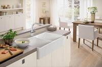Your Fireclay sink is created for you