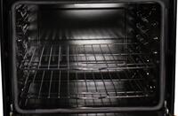 Black gloss oven interior