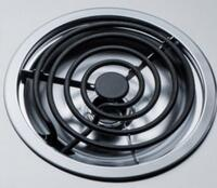 Coil Elements with Chrome Drip Pans