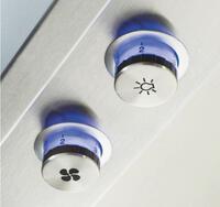 Backlit LED Knobs