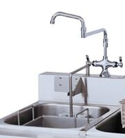 Rinse Tank and Faucet