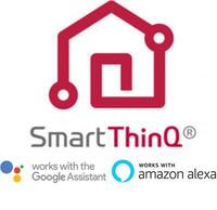 SmartThinQ Works with Google Assistant/Amazon Alexa