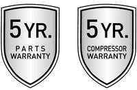5/5 Year Warranty