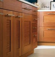Cabinet depth installation