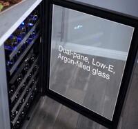 Dual-Pane, Low-e Argon-Filled Glass Door