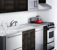 Slim Width for Small Kitchens