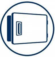Extra-Large Reversible Door
