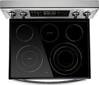 Cooktop Flexibility with Five Burners