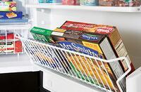 Tilt-Out Freezer Door Rack