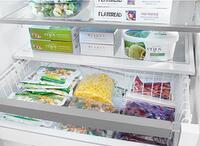 Full-Width Glass Shelves