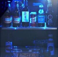Striking Blue Lighting Effect