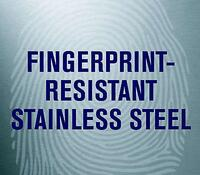 Fingerprint-Proof Stainless Steel