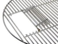 Hinged Commercial-Grade Stainless Steel Grid