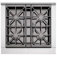 Cast-Iron Burner Grates with Easy-Slide Finish