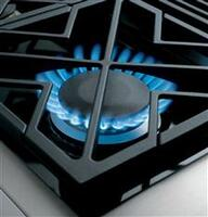 Dual-Flame Stacked Burners