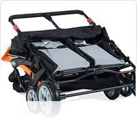 Easy Fold Black Stroller