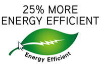 Higher Energy Efficiency