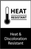 Heat and Discoloration Resistant