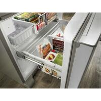Glide-out Freezer Drawer with SmoothClose™ Drawer Track System
