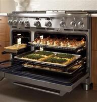 Monogram professional dual-burner bake system