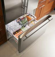 Large full-extension freezer drawer