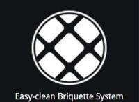 Easy-Clean Briquette System
