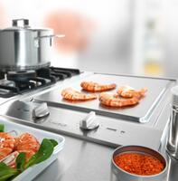 Tepan-Yaki Style Cooking