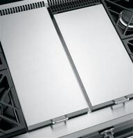 Stainless steel griddle cover