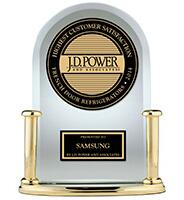 J.D. Power Customer Satisfaction Award