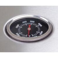 304 SS Double Wall Hood & Back Hood Temperature Gauge