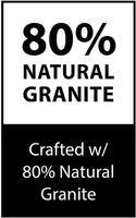 80% Natural Granite