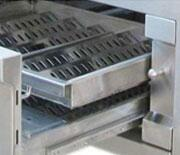 Exclusive Dual Zone Burns Trays