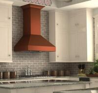 Timeless Copper Range Hood