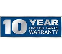 10-Year Limited Parts Warranty on Refrigerator Compressor