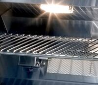 Halogen Lights for Night-Time Grilling