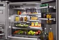 Stainless Steel Refrigerator Interior