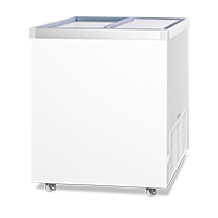 Commercial Glass Top Freezers