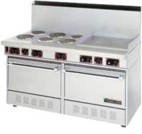 Commercial Ranges and Cooktop